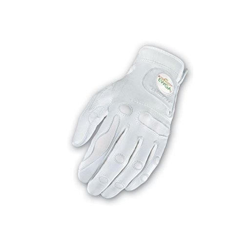 Bionic手袋ggzwrm PerformanceGripとボールマーカーWomens右ゴルフグローブ、ホワイト***中