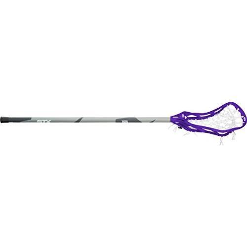 (紫の/グレー) - STX Lacrosse Women's Fortress 300 Complete Stick with Head