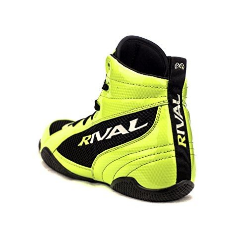 (8, LIME & 黒) - RIVAL BOXING BOOTS-LOW TOPS