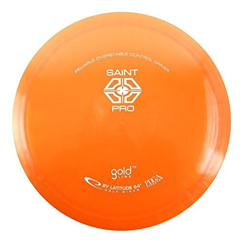 Latitude 64 ゴールド Saint Pro 165-169g Fairway Driver Golf Disc [Colours may