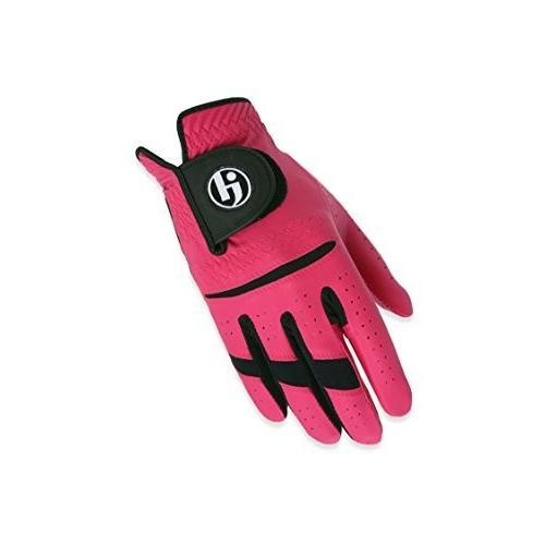 HJ Glove Gripper II 右手用ゴルフグローブ メンズ Sサイズ ホットピンク