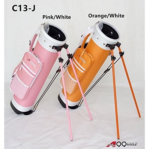 c13-jジュニアゴルフ範囲日曜日鉛筆Carryバッグ取り外し可能な上部カバーW。スタンド