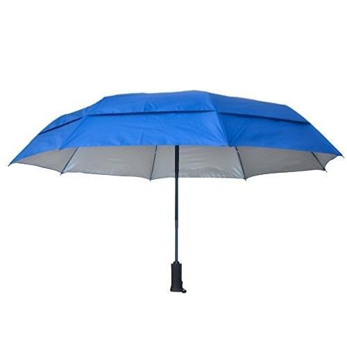 防風傘、UV保護と懐中電灯ハンドルby E - Star Goods***軽量、丈夫、風や有害な紫外線から保護Sun Rays