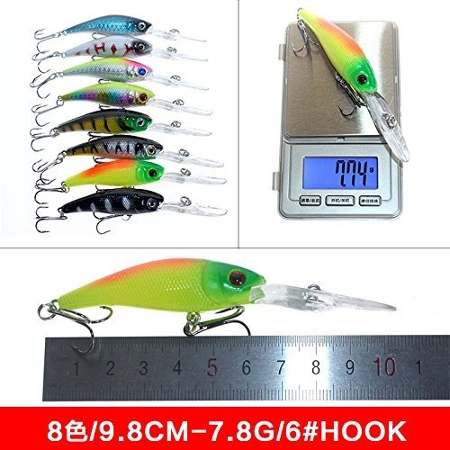 Hard Fishing Lures 43pcs Topwater Lures & Crankbaits Gear for