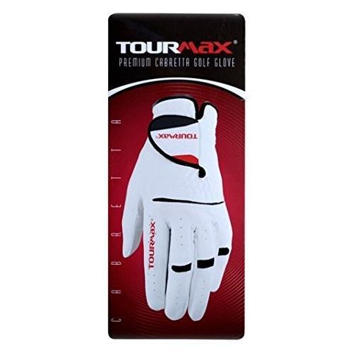 Tourmaxホワイトメンズゴルフグローブ6*Pack ( Medium / Large , Right )