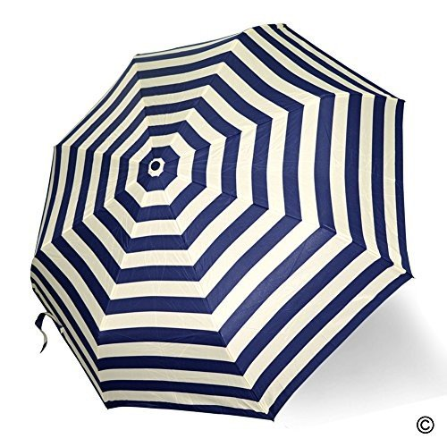 MsMr Umbrella The Navy Pattern Foldable UV Protection Umbrella Rain Auto