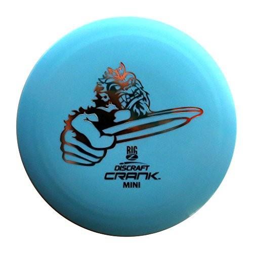 Discraft Mini Big Z Crank Disc Golf Mini Marker Disc [Colours may vary]
