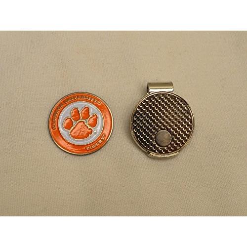 注目の NCAA ClemsonNCAA Clemson Universityゴルフボールマーカーwith磁気帽子クリップ, ユザワマチ:2444324d --- airmodconsu.dominiotemporario.com