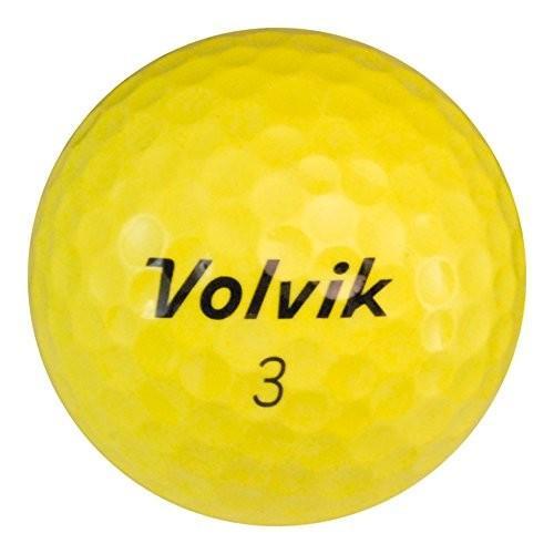 Volvik Vibeイエロー36***ミント( AAAAA ) Grade***リサイクル( used )ゴルフボール
