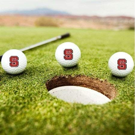 North Carolina State Wolfpack Golf Balls***3のセット