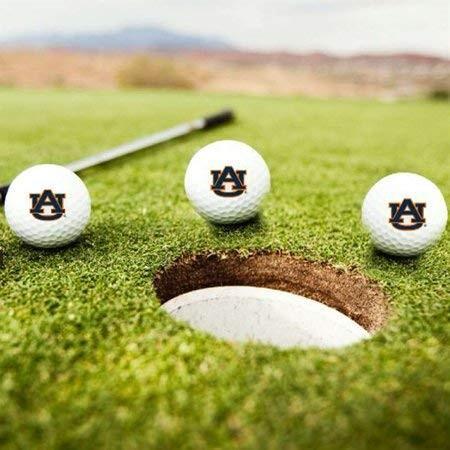 オーバーンタイガース ゴルフボール 3個セット