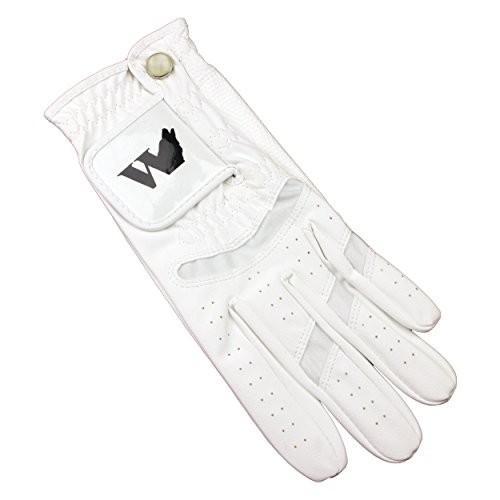 DuraGripゴルフグローブホワイトライクラメンズLeft Hand Large