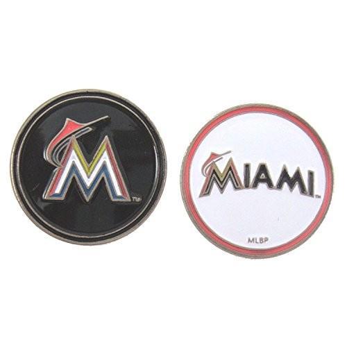 Miami Marlinsゴルフボールマーカー両面
