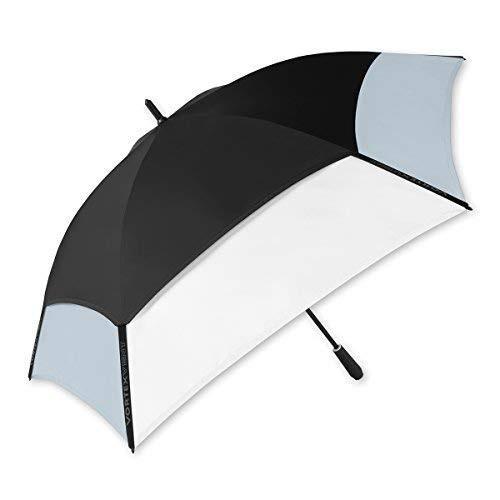 ShedRain *渦Vent 62*″ゴルフ傘:ブラック/ホワイト/グレー