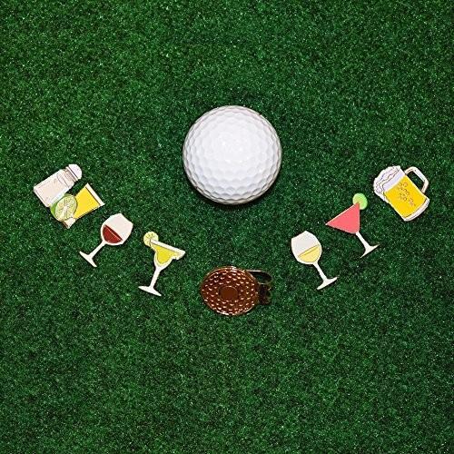 andoji面白いゴルフボールマーカー***Obsceneジェスチャ、指Middle With磁気帽子クリップ***Great贈り物forゴルファー