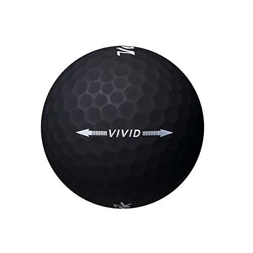 ボール2ダース2018*Volvik Vivid***マットブラックゴルフ