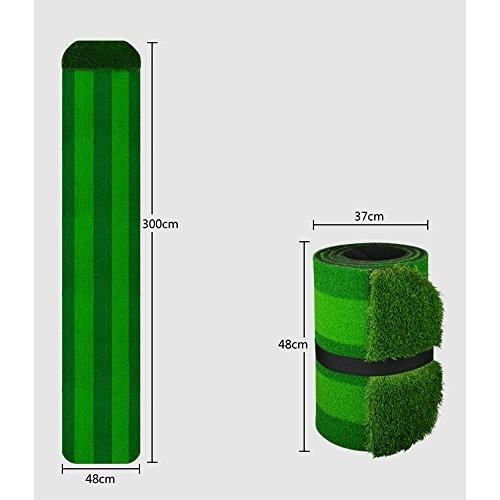 ゴルフフェアウェイエクササイズブランケットパットプラクティスマット屋内/屋外300 * 48cm (色 : 2#)