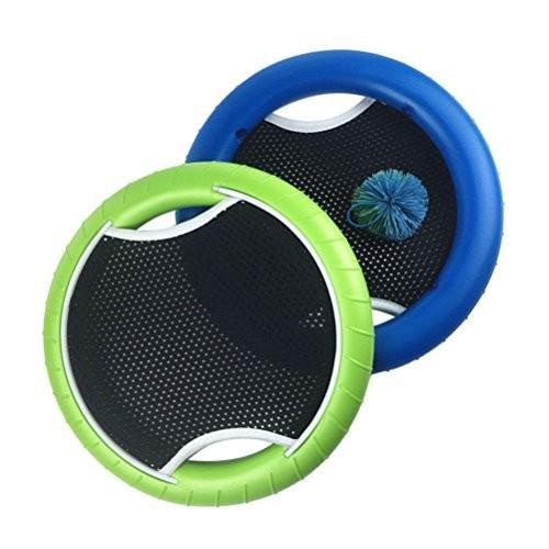 WINOMO Mezoディスクセットラバーバンド弾球とバウンドゲームキッズ大人のためのボール(2個のラケットと1個のボール)