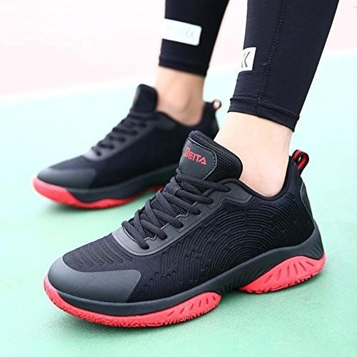 メンズバスケットボールシューズ、ロートップスニーカー、メッシュ通気性運動靴、ノンスリップウェアランニングシューズ、軽量レースアップシューズ,A,40