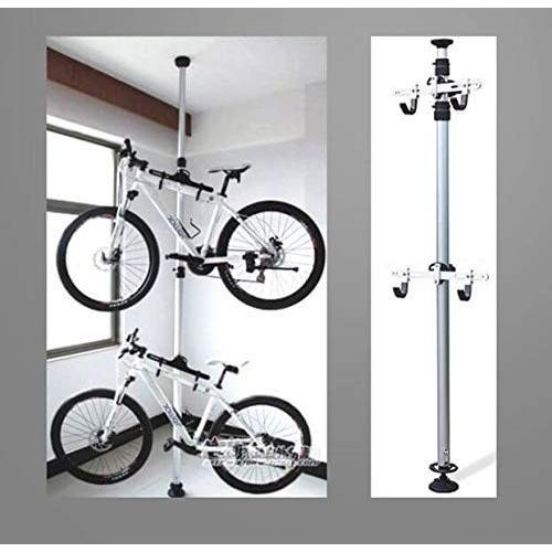 H-BIKE ディスプレイスタンド サイクルスタンド 自転車スタンド 2台 縦置き アルミHOBI(海外直送品)