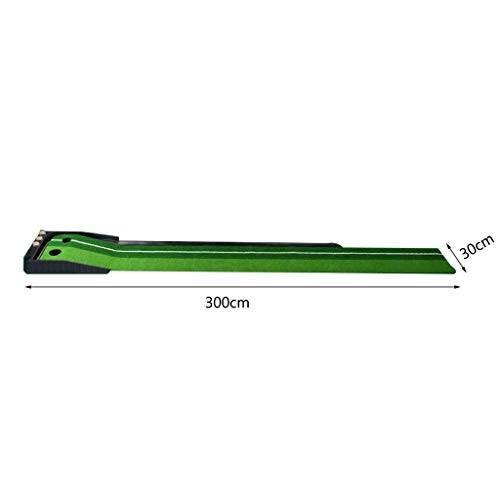 超美品 ゴルフマット*、ダブルホールデザイン、シミュレーショントラック、屋内と屋外の2色の草パタートレーナー、300* 30センチメートル, MONQLE:0c7b2428 --- airmodconsu.dominiotemporario.com