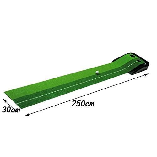 【予約販売品】 ゴルフマットトレーニングパッド打撃練習室内&アウトドアゴルフパットマットリターントラック, ダンスウェアのベイシス 933ef231