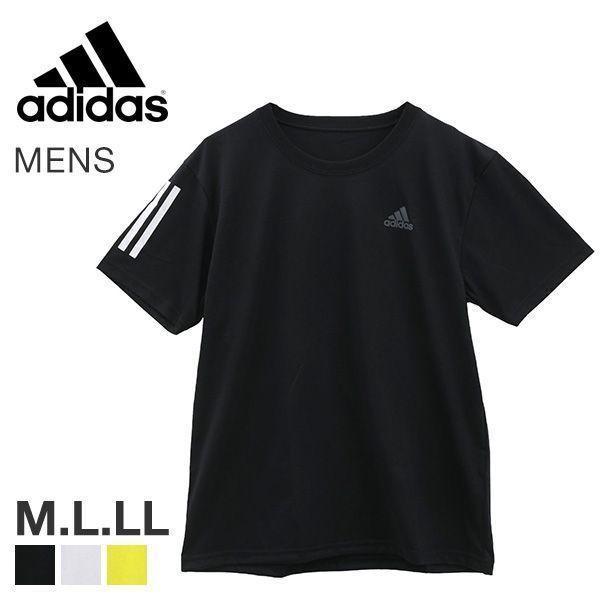 アディダス adidas 半袖 Tシャツ メンズ スポーツ クルーネック ワイドシルエット 吸汗速乾 メール便(15)