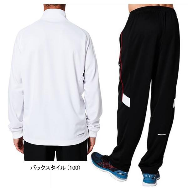 送料無料 アシックス ジャージ 上下セット asics メンズ ジャケット パンツ セットアップ スポーツウェア トレーニング 2031A661 2031A678|shirokuma-sports|05