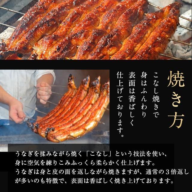 蒲焼き 2尾  (一尾 120g) K-2 鰻    ウナギ うなぎ 国産 三河一色産 炭火焼きギフト|shiromura|08