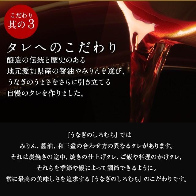 蒲焼き 2尾  (一尾 120g) K-2 鰻    ウナギ うなぎ 国産 三河一色産 炭火焼きギフト|shiromura|09