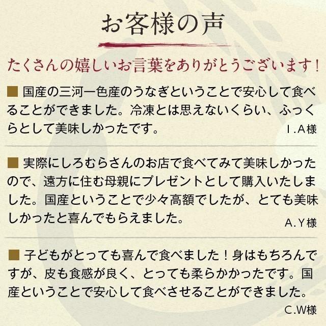 うなぎ CM-500 カット 500g (6~11パック)  1食約50g 蒲焼き   鰻 ウナギ 訳あり 国産|shiromura|11