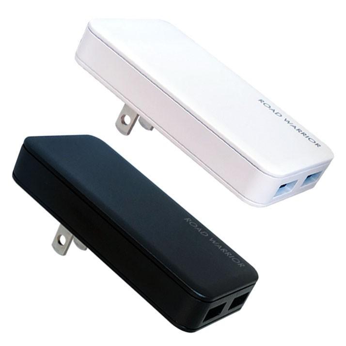 RW126 国内海外対応 USB 2ポート急速充電器 [ROAD WARRIOR]|shiroshita|02