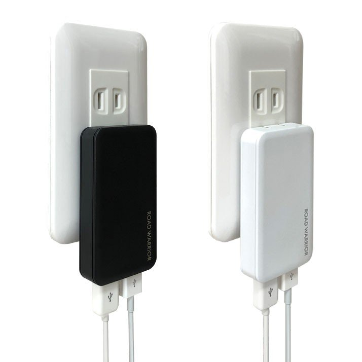 RW126 国内海外対応 USB 2ポート急速充電器 [ROAD WARRIOR]|shiroshita|03