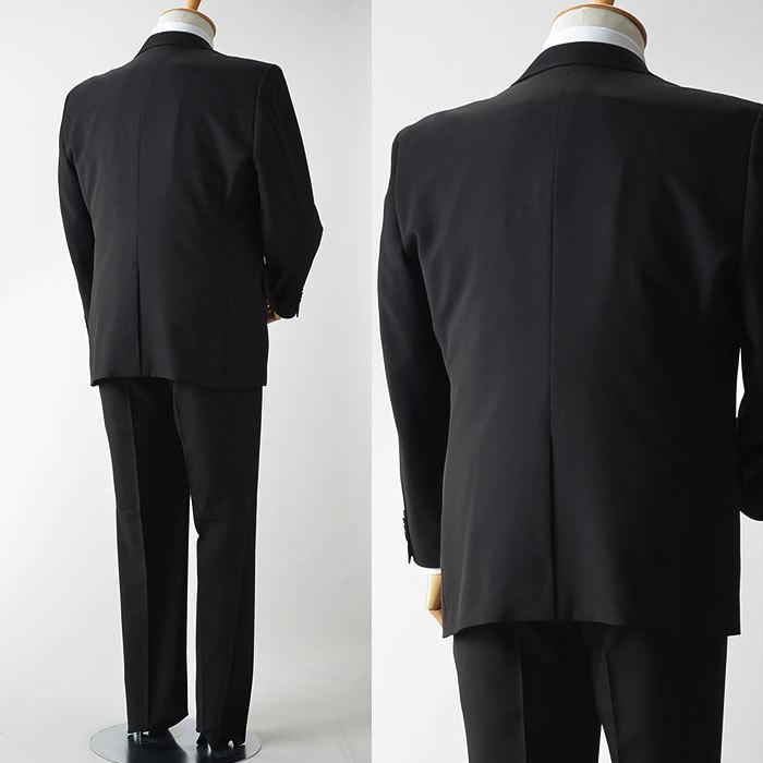 礼服 メンズ 大きいサイズ フォーマルスーツ ブラックスーツ ビッグサイズ アジャスター付 黒 喪服  冠婚葬祭 スーツハンガー付属【あすつく】|shirt-style|11