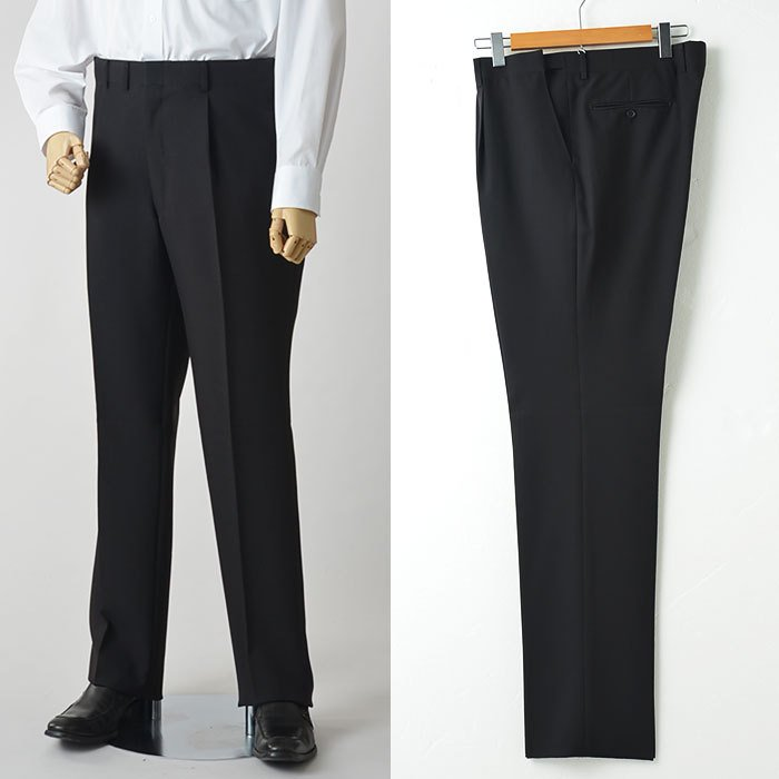 礼服 メンズ 大きいサイズ フォーマルスーツ ブラックスーツ ビッグサイズ アジャスター付 黒 喪服  冠婚葬祭 スーツハンガー付属【あすつく】|shirt-style|12