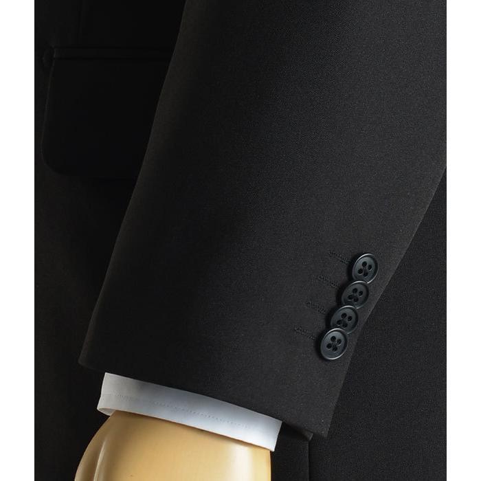 礼服 メンズ 大きいサイズ フォーマルスーツ ブラックスーツ ビッグサイズ アジャスター付 黒 喪服  冠婚葬祭 スーツハンガー付属【あすつく】|shirt-style|15