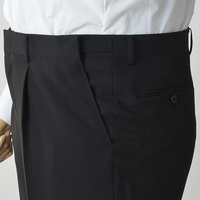 礼服 メンズ 大きいサイズ フォーマルスーツ ブラックスーツ ビッグサイズ アジャスター付 黒 喪服  冠婚葬祭 スーツハンガー付属【あすつく】|shirt-style|16