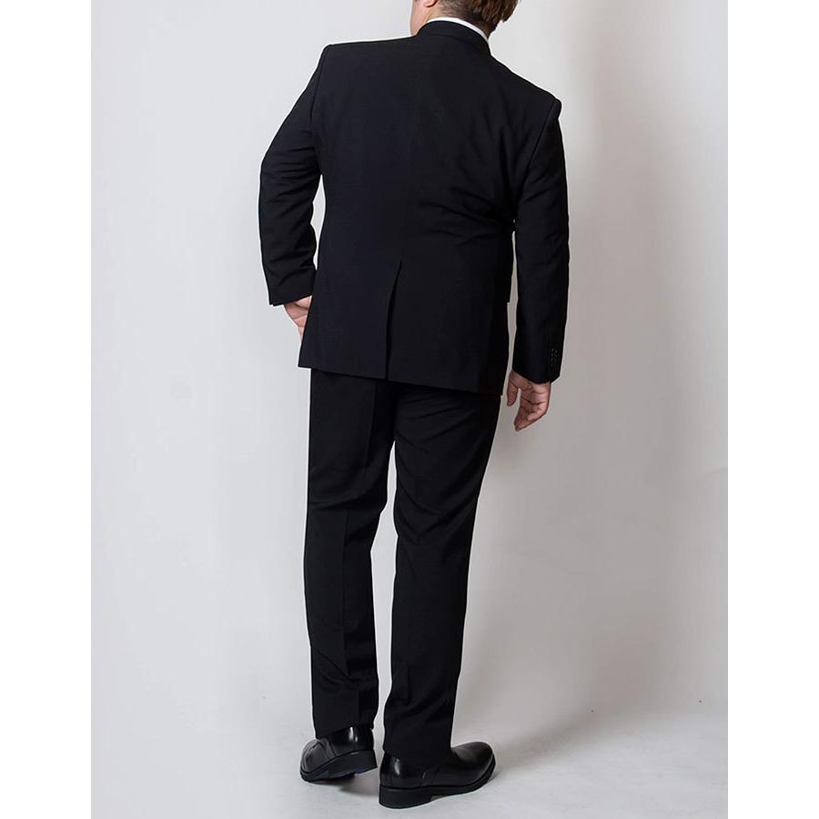 礼服 メンズ 大きいサイズ フォーマルスーツ ブラックスーツ ビッグサイズ アジャスター付 黒 喪服  冠婚葬祭 スーツハンガー付属【あすつく】|shirt-style|19