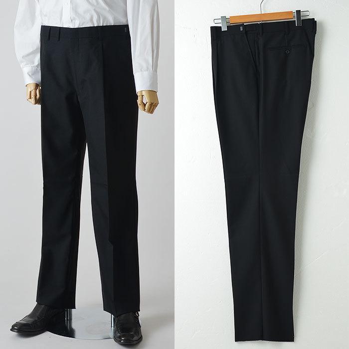大きいサイズ 礼服 メンズ フォーマルスーツ ビッグ おおきい ゆったり 濃染加工 2つボタン シングル 深みブラックスーツ アジャスター付 黒 喪服  冠婚葬祭|shirt-style|12