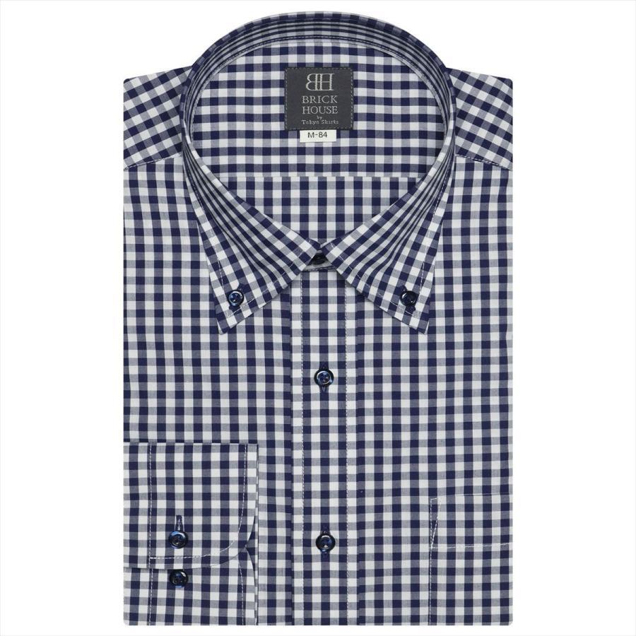 ボタンダウン 長袖 形態安定 ワイシャツ