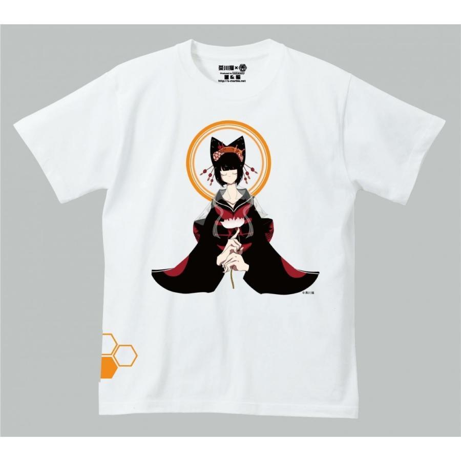 禿ーKAMURO-蓮と輪 思春期マーブルTシャツ|shisyunki