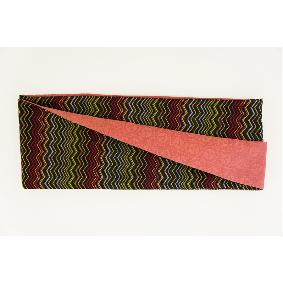 【お買得!】 帯 簡単 着付け不要 日本製 正絹 リボン 結び帯 数量限定 色彩 Mサイズ, ヒガシナリク 0c0a108b