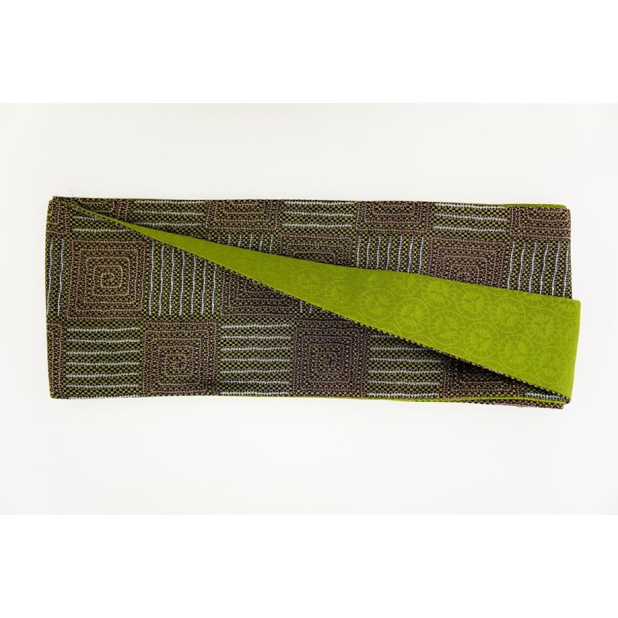 超熱 帯 簡単 着付け不要 日本製 正絹 リボン 結び帯 数量限定 色彩 Mサイズ, ナデシコの森 e49abfd8