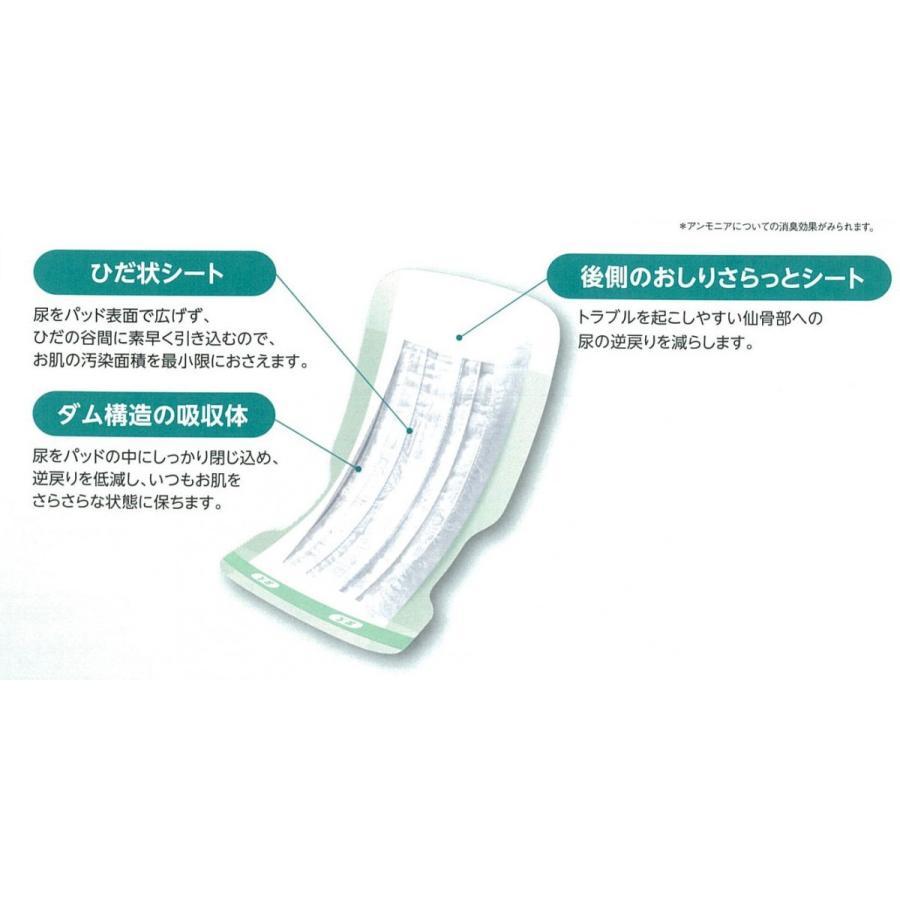 ライフリー心とお肌のケアパッド 男女共用 スーパー22枚×4袋入|shiwa-awase|03