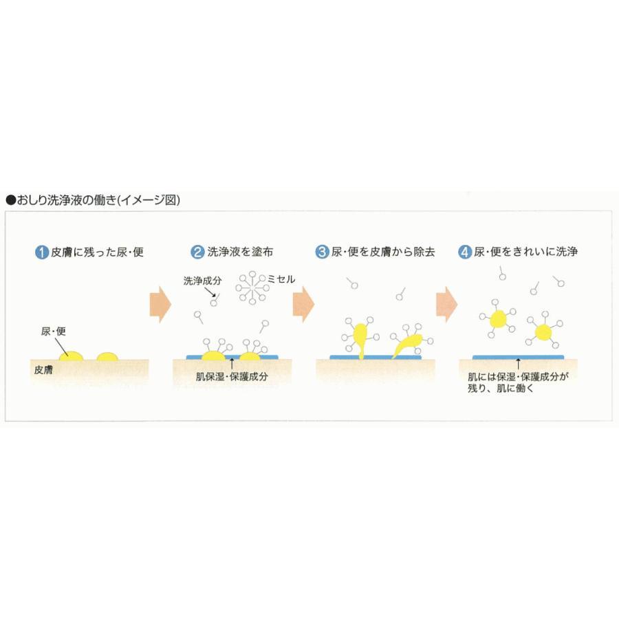 ライフリーおしり洗浄液Neo 付替え1750mL×2本入|shiwa-awase|02
