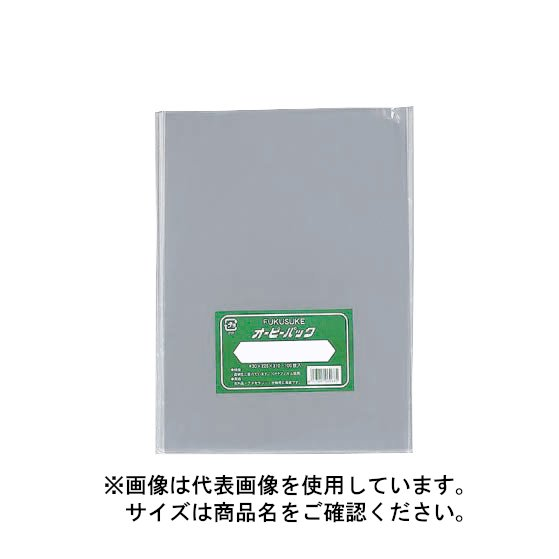 福助工業 オーピーパック No.25-45(テープなし) 250mm×450mm クラフト包装(1000枚) FK