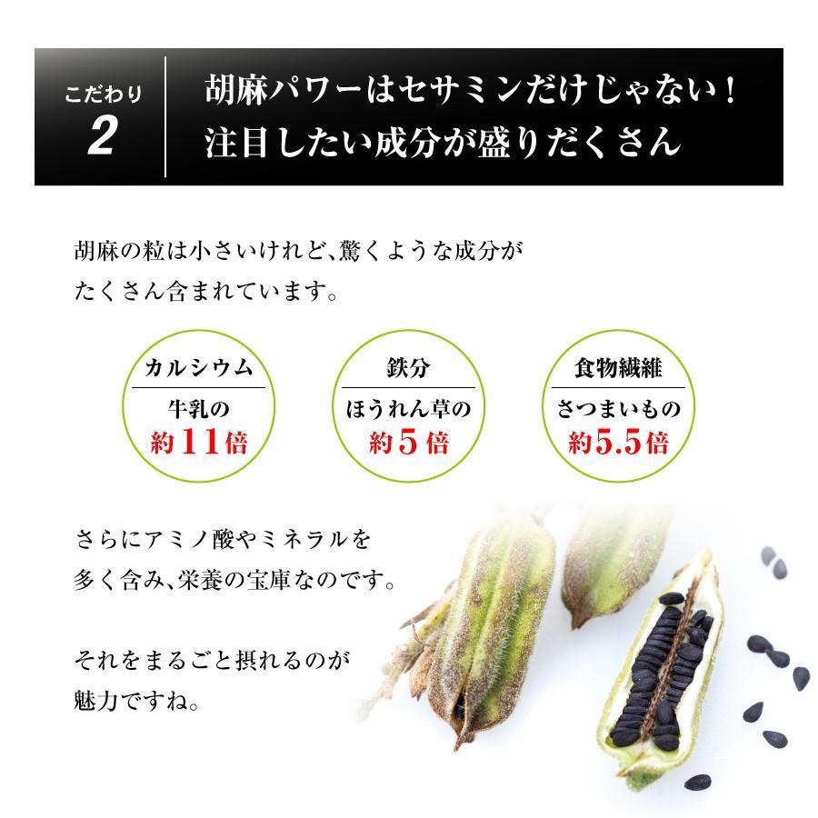 胡麻板 セサミン約7倍!リグナンリッチ黒ごま使用 自然共生 バランス栄養 栄養調整食品 ポイント消化|shizen-kyosei|06
