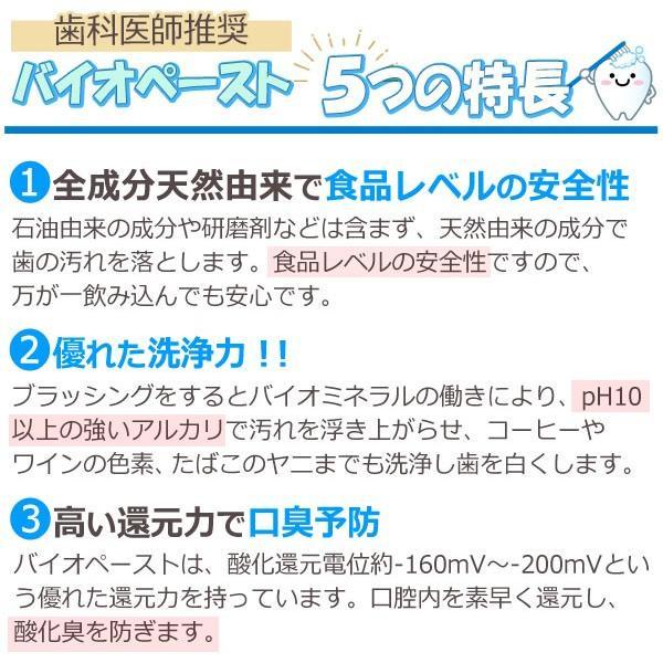 バイオペースト(60g) 3本セット アルラ shizenkan 03