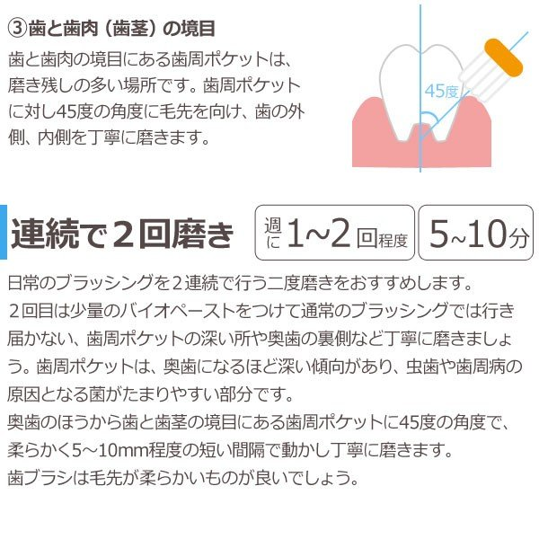 バイオペースト(60g) 3本セット アルラ shizenkan 08
