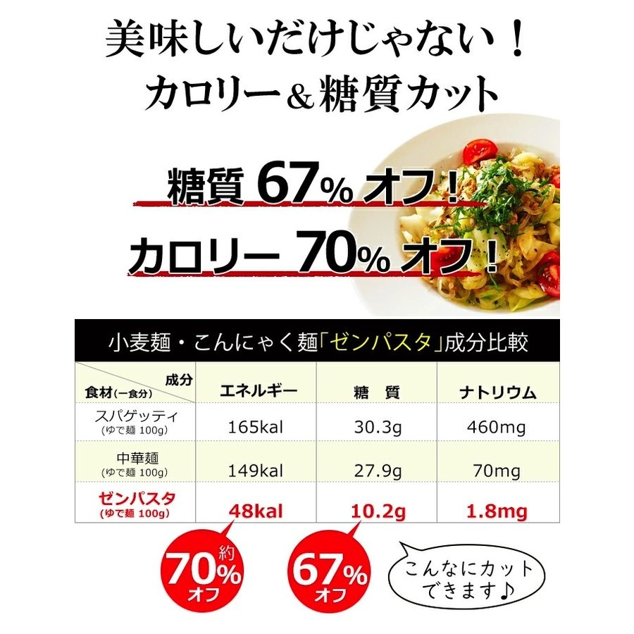 こんにゃく麺 ダイエット食品 置き換え 乾燥しらたき 低カロリー 糖質オフ shizennomegumi 05
